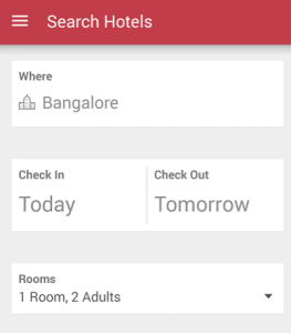 redbus search hotels