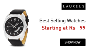 laurel watches at Rs 99 only amazon