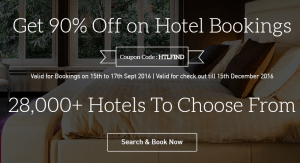 MakemyTrip :- Book your Hotels at 70% off upto Rs. 2300+ 20% Cashback To Wallet upto Rs 2000