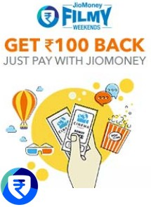 Bookmyshow loot- Get flat 100% cashback on booking Movie tickets via Jio Money