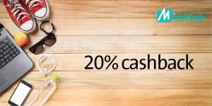 Mobikwik Surgical Strike offer – Get flat 20% cashback on your first September Recharge