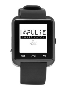 Myntra - Buy NOISE Unisex Black Impulse Bluetooth Smart Watch at Rs 749 only