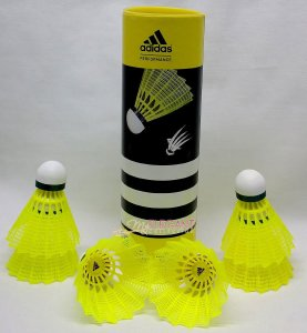 Amazon - Buy Adidas Performance Badminton N300 Nylon Shuttlecock at Rs 400 only