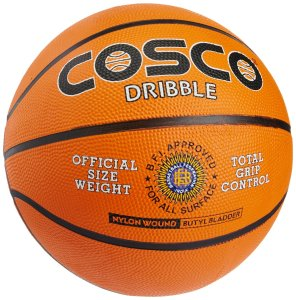 Amazon – Buy Cosco Dribble Basket Ball, Size 7 (Orange) at Rs 299 only + free shipping
