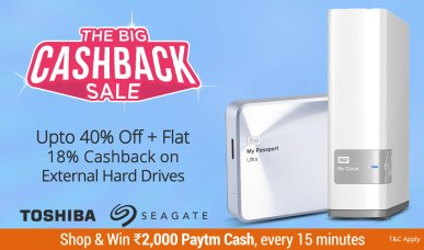 paytm the big cashback sale - HDD18