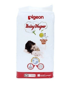 Amazon – Buy Pigeon Baby Diaper Medium Size (40 Pieces) at Rs.449