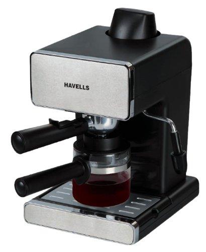 Havells Coffee Maker Demo : Amazon - Buy Havells Donato Espresso 900-Watt Stainless Steel Coffee Maker (Black) for Rs 2620