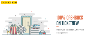 ticketnew get 100 cashback on movie tickets via freecharge