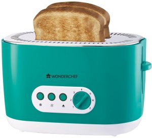 Flipkart - Buy Wonderchef 63151721 780 W Pop Up Toaster (Green) at Rs 1,007 only