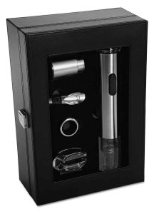Amazon - Buy Oster FPSTBW8055 Wine Kit with Stainless Steel Wine Opener (Black) at Rs 1201 only