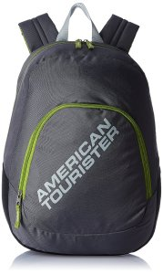 American Tourister Jasper 13 ltrs Black Casual Backpack