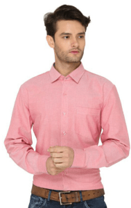 Bombay High Pink Casuals Slim Fit Shirt