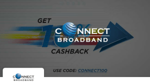 Get 10% Cashback On Bill Payment Of Connect Broadband