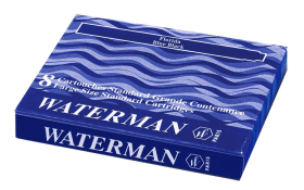 (Hurry) Amazon - Buy Waterman Ink Cartridge Blue Black for just Rs.47(84% off)