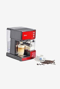 TataCliq - Buy Oster 6601 Prima Latte Automatic Coffee Maker Red at Rs 8999 only