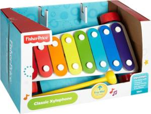 Flipkart - Buy Fisher Price Classic Xylophone (Multicolor) at Rs 698 only