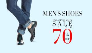 jabong end of reason sale get flat 70 off on shoes branded