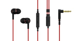 Amazon - Buy Soundmagic ES18S In-Ear Headphone With Mic (BlackRed) at Rs 625 only