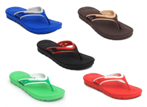 Extra Light Flip Flops(Mix Colors)