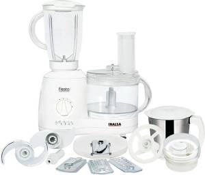 Flipkart- Buy Inalsa fiesta 650 W Food Processor (White) at Rs 2499 only