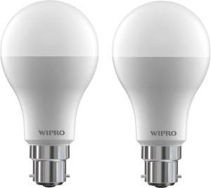 Flipkart - Buy Wipro 12 W B22 LED Bulb  (White, Pack of 2) at Rs 299 only