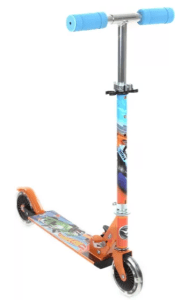 Hot Wheels hot wheel 2 wheel scooter with lights (Orange)
