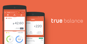 True Balance app - Get Rs 20 cashback on Recharge of Rs 150 or more