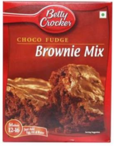 Betty Crocker Choc Fudge Brownie