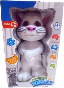 Flipkart - Buy Teddy Berry Talking Tom Cat  (White, Grey) at Rs 292 only