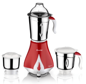 Preethi Spice MG 203 550-Watt Mixer Grinder (Cherry Red with Cream Border) for Rs.1,999