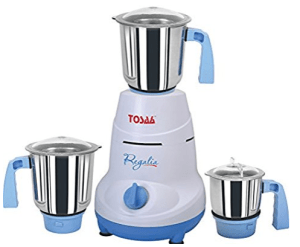 Tosaa Regalia 550-Watt Mixer Grinder (Blue and White)
