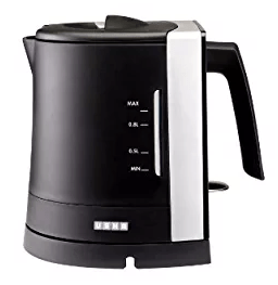 Usha 3210 0.8-Litre Stainless Steel Electric Kettle (Black)