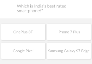 india best rated smartphone oneplus 3t question