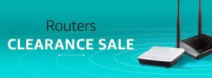 Amazon Routers Clearance Sale - Get upto 60% off on Networking Devices