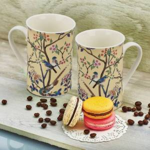 Cello Milano Coffee Bone China Mug (295 ml, Pack of 2) at Rs 69 only flipkart
