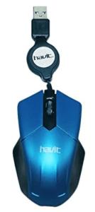 Havit HV-MS677 Wired Mouse, Blue