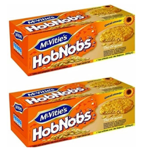 McVitie's HobNobs Oat Biscuit, 300g (Pack of 2)