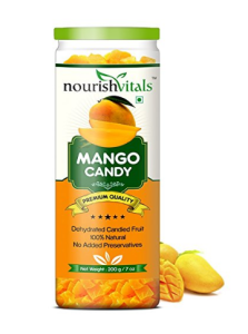Nourish Vitals Mango Dried Fruit (Dehydrated Fruits) - 200 gm at Rs.269