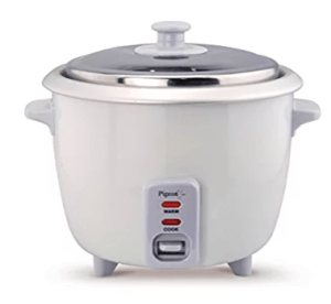 Pigeon Favourite 94 1-Litre Rice Cooker (Red/White)