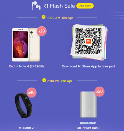 mi fan festival flash sale
