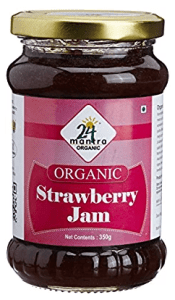 24 Mantra Organic Strawberry Jam, 350g