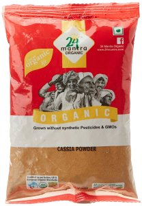 Amazon- Buy 24 Mantra Organic Cassia Powder, 100 gm at just Rs 50 only