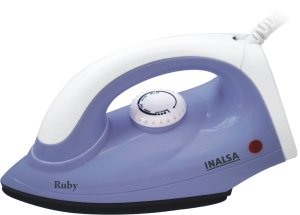 Amazon- Buy Inalsa Ruby 1000-Watt Dry Iron at just Rs 299 only