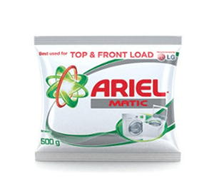Ariel Matic Detergent Powder - 500 g Pack at rs.50