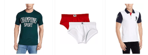 Flat 70% Off On Symbol Men's Cotton Briefs, Trunks,T-Shirts