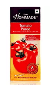 Hommade Tomato Puree, 200g (Pack of 3) at Rs.38