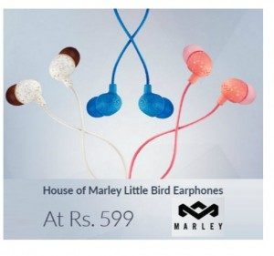 Amazon – House Of Marley Little Bird Earphones Rs. 399
