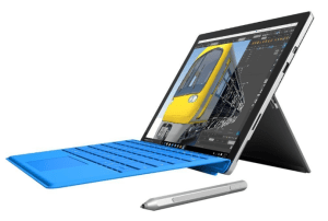 Microsoft Surface Pro 4 31.24 cms (Core M/4GB/128GB/Windows 10/Integrated Graphics), Silver Microsoft Office 365 Personal Included