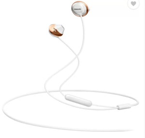 Philips SHE4205WT00 Wired Headset With Mic (White) at rs.599