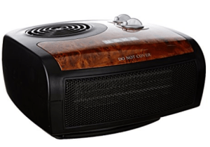 Usha FH 1212 PTC 1500-Watt Fan Heater (BlackBrown) at Rs.2,199